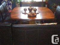 High Dining Room Table Set, originally from Ashley