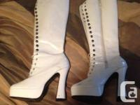 I'm cleaning my heels ... Whole lots of AWESOME shoes,