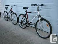 Will sell bikes separately. In As New Condition, ridden