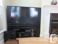 55 Inch Rear LCD Projection HD TV complete with factory