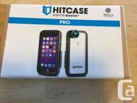 Hitcase Pro for IPhone 7. Comes with super wide lense