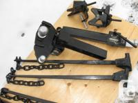 HITCH weight distribution, like **NEW** heavy duty,