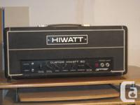 Parting with my '77 Hiwatt DR-505 50 Watt Guitar