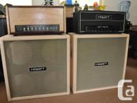 THIS IS A REAL TONE MONSTER! THIS AMP HAS JUST HAD A