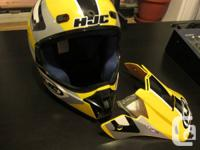 HJC Helmet/Casque - Size/Taille M  Great condition.