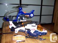 Hélicoptère Tonka fait du bruit et de la lumière
