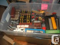 HO TRAIN COLLECTION rolling stock, buildings, track and for sale  British Columbia