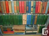 Hoard of Jack London books.   The photos show 3 book