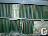 Hoard of 246 Robert W. Service books.   The photos show
