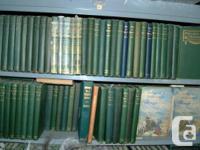 Hoard of 246 Robert W. Service books.   The photos show