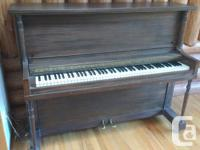 Antique Piano by Hobart M Cable for FREE. We're moving