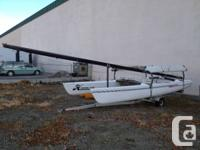 This 21ft Hobbie feline is in fantastic form and is