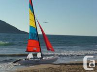 Hobie 21 Sport Cruiser with trailer for sale in Nanaimo, British