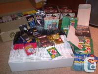 Over 570 unopened packs some in boxes  Baseball-