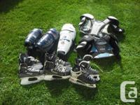 Skates. Bauer Supreme 5000 sz 6, CCM 752 Prolite 3 sz7,