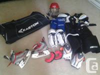 I have a complete collection of youth / JR hockey