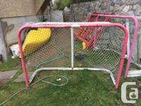 35$ for net without tie up goaltender and 40$ for net