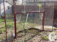 EZ Goal hockey net purchased from Costco which is