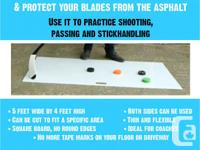 Thinnest hockey shooting boards out there.Ideal for any