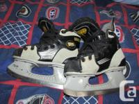 Skates for sale, all in good shape with lots of blade