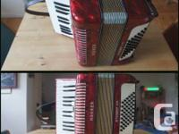 Used, Selling this used Hohner accordion, as is. It is in for sale  Ontario