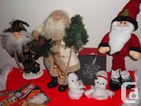 We have three Daddy Xmas's - 2 more than one foot high,