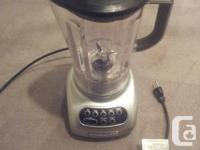 5 Rate Kitchen area Aid Blender, perfect state and