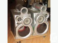 JVC sp mxp80 haut parleurs avec 2 canaux chaque, 1