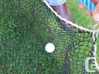 Want to build your own driving range?  I have net ideal