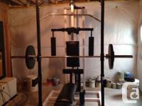 I have a home gym (as shown), disassembled in my