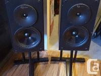 I have a set 5 speakers for sale. 2 front, 2 back and