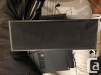 1 Vivid HTV1 center speaker 2 Energy CB20 speakers 2
