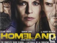 $25 for Homeland (DVD) Seasons 1, 3 & 4. All three