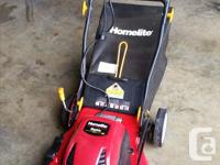 $100 OBO. This is an electric lawnmower, quieter than a