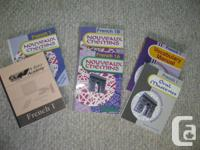 Student as well as educator texts, workbooks,