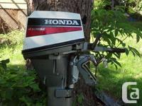 1995 Honda 4 stroke. excellent motor, runs like new,