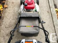 This Honda lawnmower, model number HRR2169VKC, is built