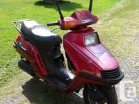 Scooter for sale. Relive the 80s in style. Fully