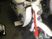 Early model Honda 55 scooter all original not running