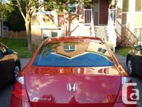 Make Honda Model Accord Coupe Year 2008 Colour Red kms