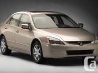 Make. Honda. Version. Accord. Year. 2005. Colour.
