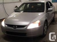 Make Honda Version Accord Year 2005 Colour Silver kms