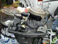 I have an older 4 stroke Honda 9.9 outboard motor for