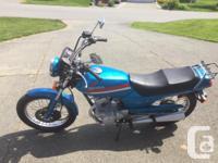 Honda CB125T 1990, 9800kms. $1500 obo, or trades Good