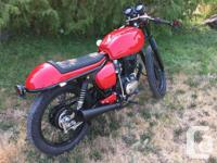 Make Honda Colour Red Trans Manual This CB has been