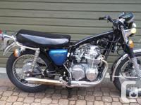 Make Honda Model Cb Year 1975 kms 30000 The Honda CB550