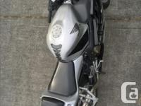 Make Honda Year 2001 kms 38000 CBR 600 great condition.