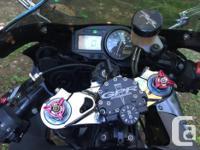 Make Honda Model Cbr Year 2004 kms 8000 This bike is