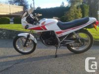 Make Honda Model Cb Honda CBX250 in great condition.