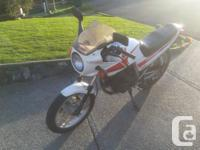 Make Honda Honda CBX250 in great condition. This is a